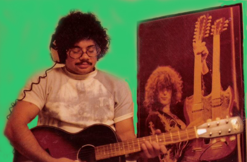 Barry Cannizzaro, Guitar & Vocals July 1978