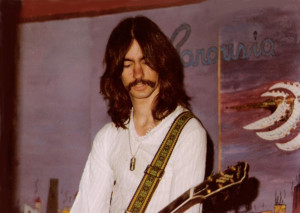 Garth Huels - Lead Guitar & Vocals, McVan's Nov. 22 1984