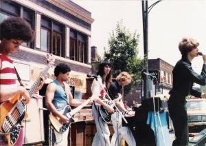Parousia at the Hertel Happening - August 1, 1981