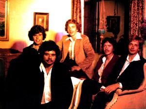 Parousia first Band photo session  Dec 1975