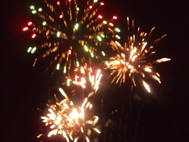 (10) Fireworks at Riverside Park 2