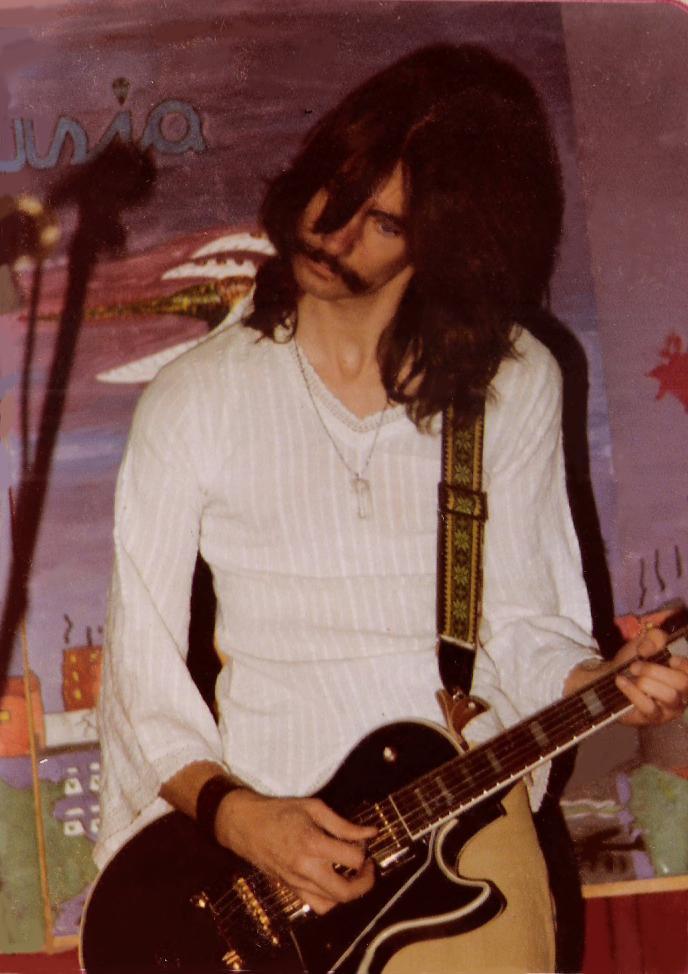 Garth Huels- Lead Vocals - Parousia at McVan's 11.22.1978