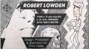 Robert Lowden digital artist