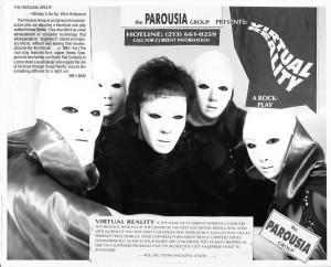 Virtual Reality Rolling Stone Magazine Jan. 1991