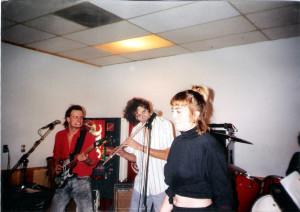 Dudley Taft, Patt Connolly & Claudine Regian -Dec. 1989
