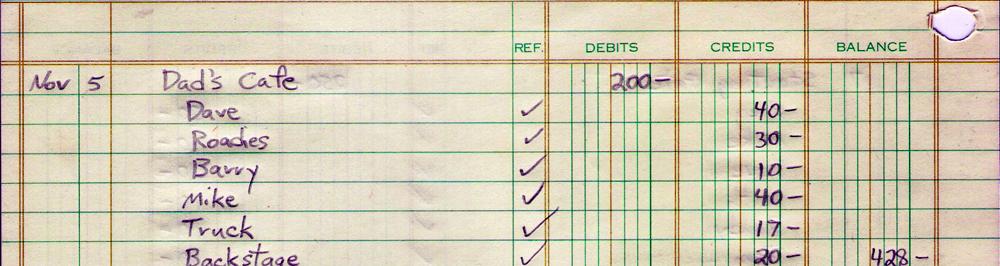 11.05.1981 Dad's financial statement