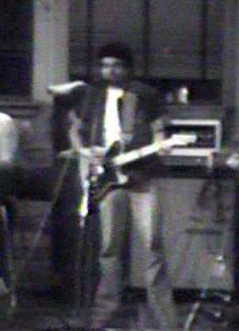 Barry Cannizzaro at Rano rehearsal - May 1979