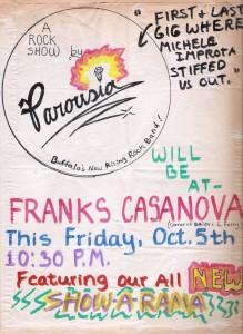 Frank's Casanova Friday, 10.05.1979