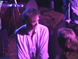 Patt Connolly  and Claude - 'Virtual Reality' show at the Troubadour.  Sept. 21, 1991