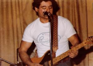 Barry C annizzaro - Lead Vocals and Guitar - McVan's November 22, 1978