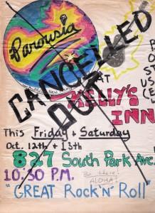 Kelly's Inn October 12-13, 1979