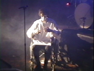 Patt Connolly - 'Virtual Reality' show at the Troubadour.  Halloween 1991