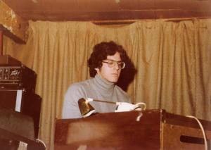 Dave Maltbie - Wurlitzer Organ, Moog Synthesiser & Fender Rhodes - McVan's Nov. 22, 1978