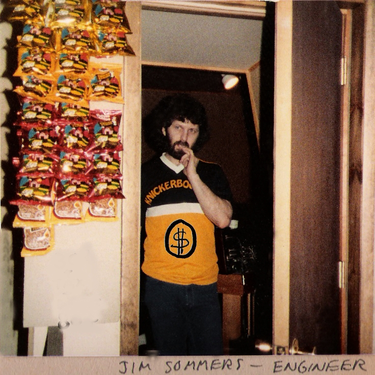 Jim Sommers at the controls_Loft Studios_Feb. 1984