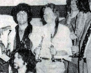 Riverside Park Awards Ceremony live on stage - July 1979