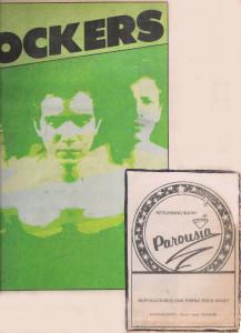 Rockers Magazine Parousia Ad. February 1980