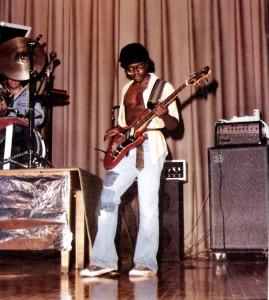 BIlly Simms - Bass Guitar - Hutch Tech May 1978