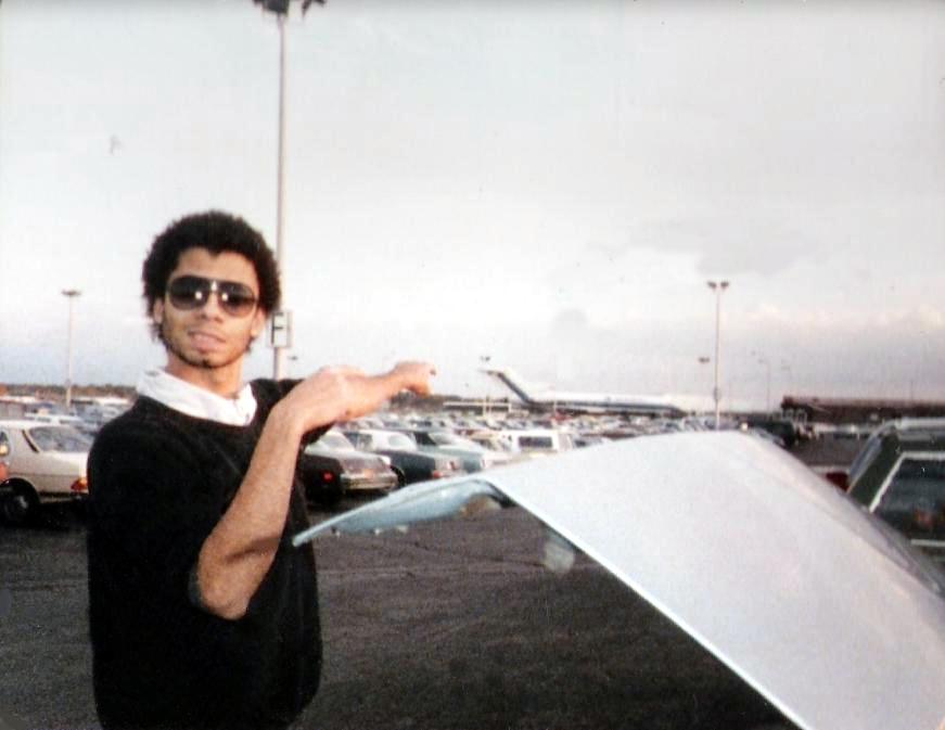 Bob points the way to NY. Oct 15-17, 1985