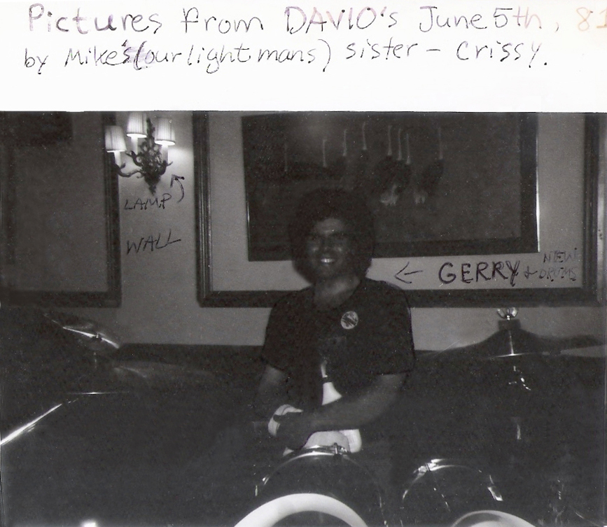 At Davio's: Gerry North Cannizzaro and his sonic monster, the North Drum Kit