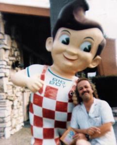 Colin Hilbourne. Parousia Manager from 1985-1988 Bob's Big Boy, Culver City, CA.