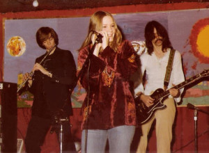Kim Watts & the center line up of Parousia - Nov. 1978
