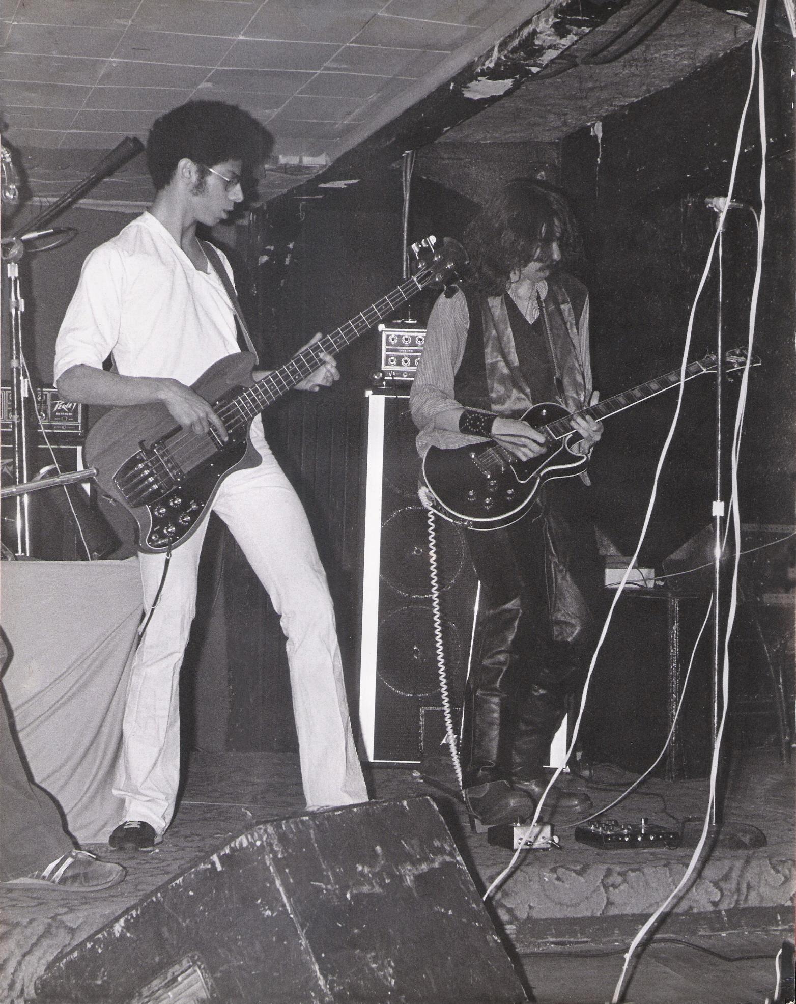 Bob Lowden and Garth Huels