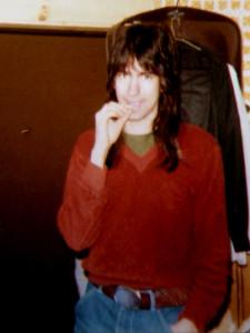 """Gath Huels at """"The Texas"""" in Burlington, VT - Feb. 1982"""