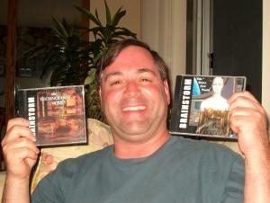 2004 - Gregg Filippone with Brainstorm CD's 3 & 4