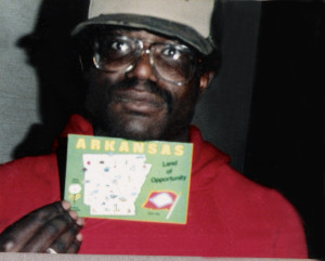 Bill arrives in Arkansas via broken truck en-route to Hollywood CA - Jan 1987