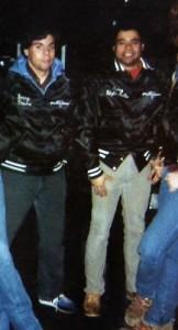 """Gerry & Barry Cannizzaro """"the Texas"""" bar, Burlington, VT - Feb. 1982"""