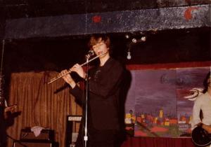 Patt Cannizzaro - The falutist flauting his flute at McVan's November 22, 1978