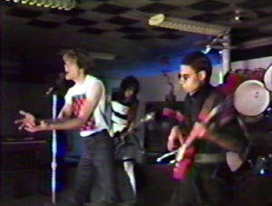 """Parousia clip from the 'KEEP RUNNING' video - 1984 - """"Dry your eyes, tell the truth"""".."""