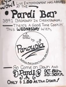 The Pardi Bar, 3891 Cheektowaga, NY. 10.08.1980
