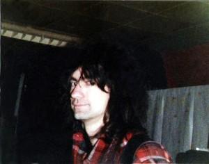 Garth Huels at 'the Chamber' - May 1984