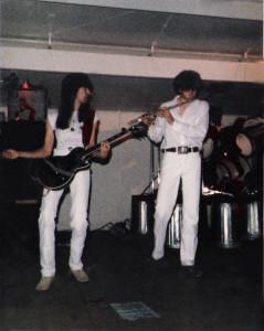 Gath Huels in concert at Riverside Park -  June 30th 1984