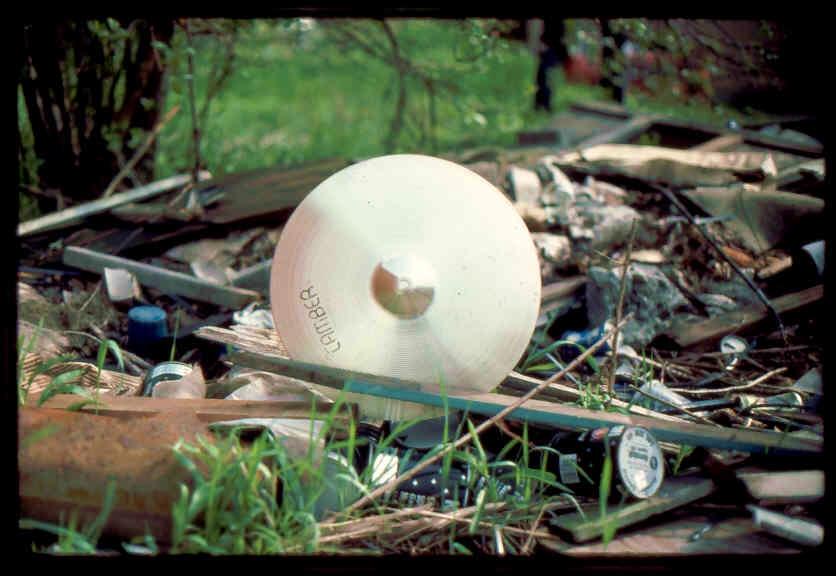 (3) Cymbal on ground