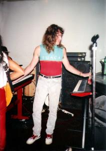 Marty Leggett Uncle Rehearsal studios Dec 1989
