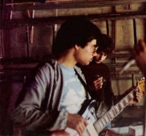 """May 16, 1976 Rehearsal at """"Grandma's Garage"""" 105 Baxter"""