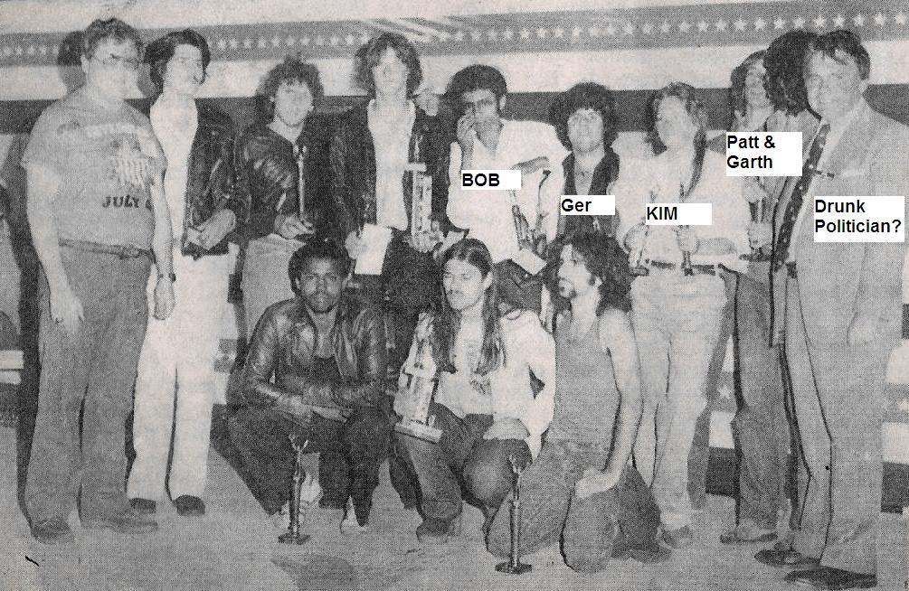 (3) Parousia. Riverside Park talent comp. 1979