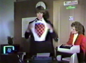 Patt Connolly & Macia Miller - Keep Running Video - August 1984
