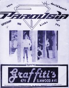 Parousia at Graffiti's June 1981