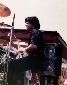 Gerry Cannizzaro with Parousia at the Hertel Happening August 1, 1981