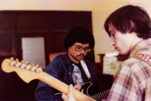 Barry & John - All Saints school 1976