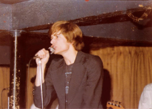 Patt Connolly Lead Vocals - Parousia at Mc Van's November 22, 1978