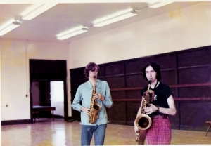 Patt Connolly & Mike Newell- Let's have sax!