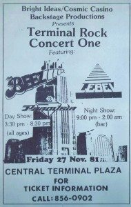 Terminal Rock Concert one- 11.27.1981