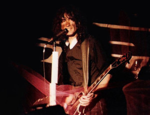 Garth Huels at the Plant 6 - Church & State show - Dec. 1985