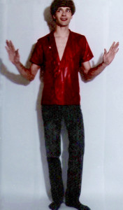 'Keep Running' video promo pics -  Patt in a box-1984