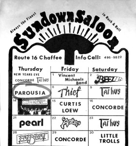 Sundown Saloon - 01.07.1982