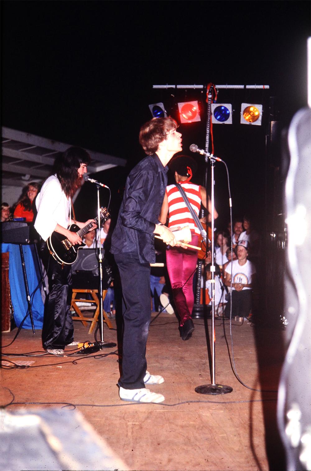 Parousia Performing at Riverside Park